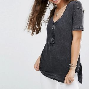 """We the free """"downtown girl"""" oversized Henley!"""